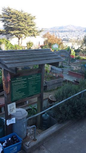 Brooks Park Community Garden - San Francisco, CA - Pokemon