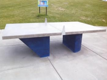 Concrete Ping Pong Table   Davenport, IA