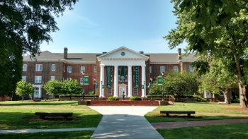 Colleges In Greensboro Nc >> Main Building At Greensboro College Greensboro Nc