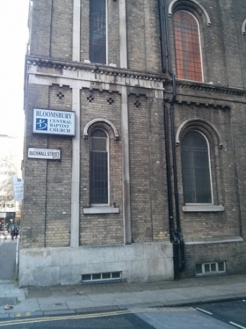 Bloomsbury Central Baptist Kirche